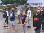 Fotografování žáků I. stupně 10.06.2020